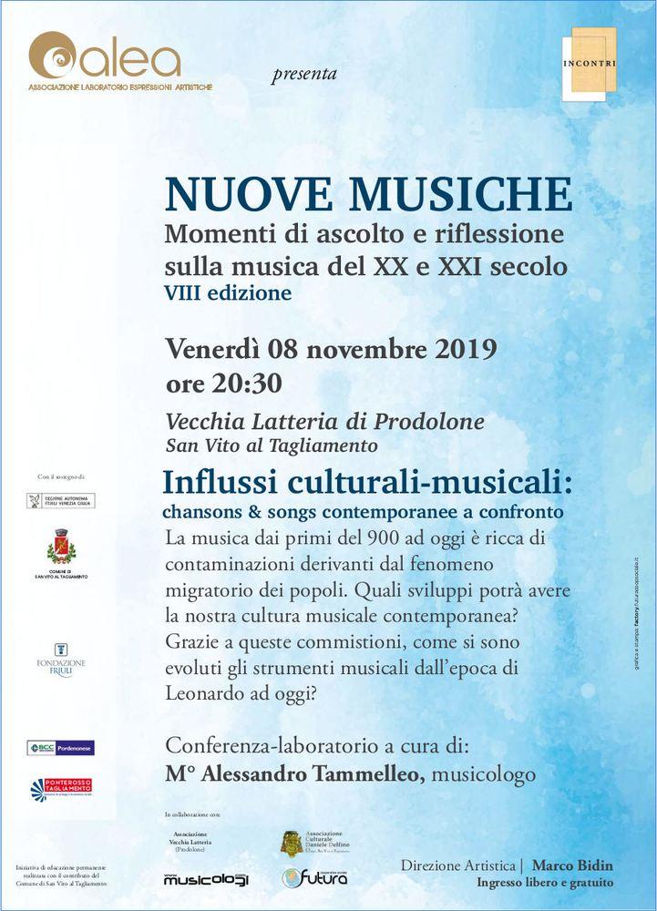 Influssi culturali-musicali