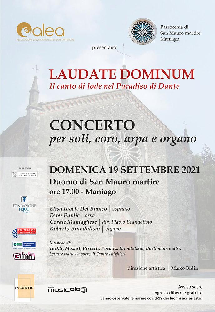 Concerto Maniago - Settembre 2021